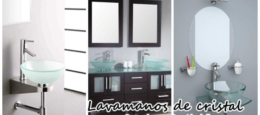 Espectaculares lavamanos de cristal para renovar tu baño