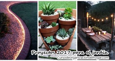 Ideas DIY para el jardín – Propuestas 2017