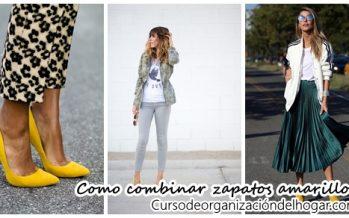 Ideas para combinar zapatos amarillos