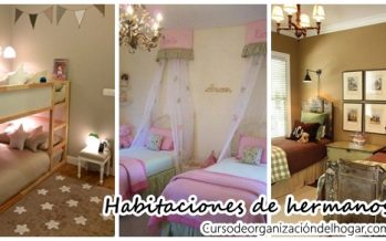 Ideas para decorar cuartos de hermanos