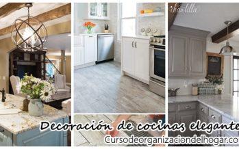 Ideas para una cocina elegante y con estilo