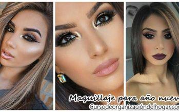 Maquillaje que puedes lucir en año nuevo