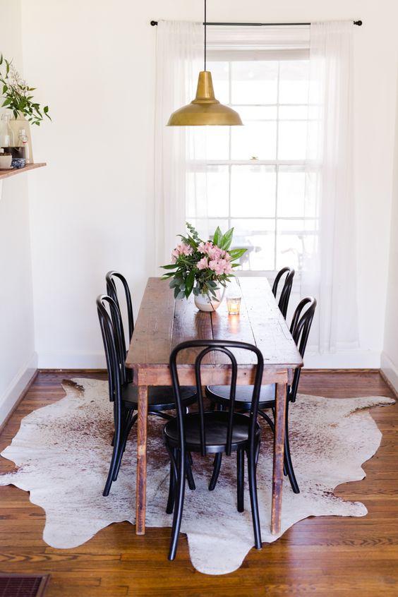 Opciones para decorar comedores peque os 29 curso de for Mesas para comedores pequea os