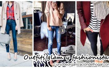 Outfits glam y fashionistas para invierno