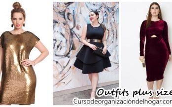 Outfits para chicas plus size ideales para fiesta de año nuevo