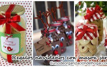 Regalos navideños DIY con mason jars