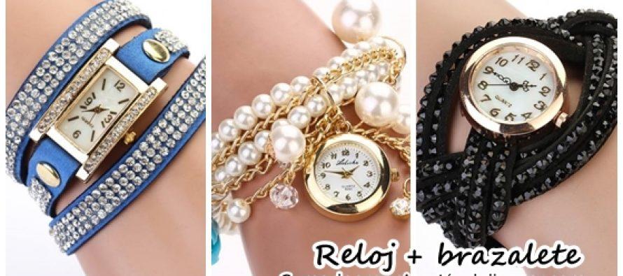 Accesorios de moda ¡Reloj con brazalete!