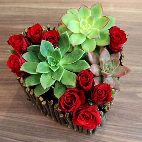 Arreglos floralesmodernos 14 de febrero
