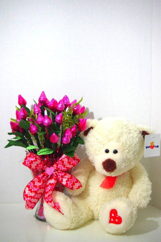 Peluches para regalo de 14 de febrero