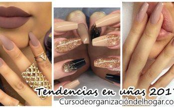 Diseños de uñas tendencia 2017-2018