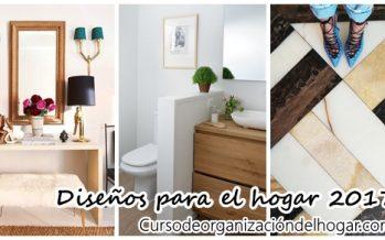 Diseños para el hogar – decoración de interiores 2017