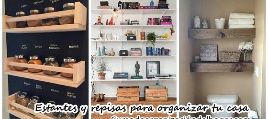Estantes y repisas economicas para organizar tus cosas a la perfección