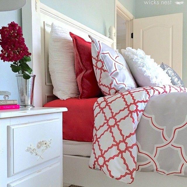 Ideas para decorar tu cama con cojines 35 curso de - Decorar cama con cojines ...