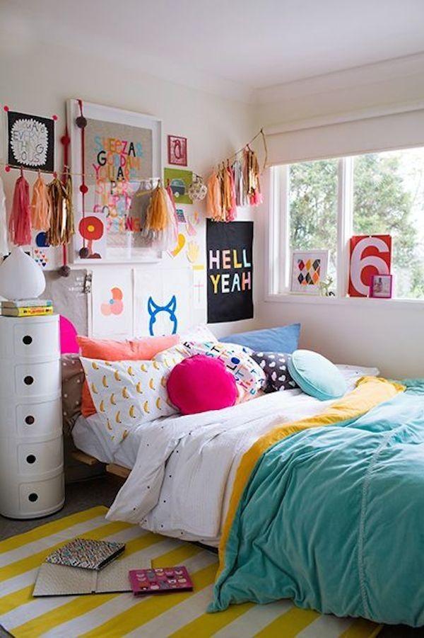 Ideas para decorar tu cama con cojines 36 curso de - Decorar cama con cojines ...