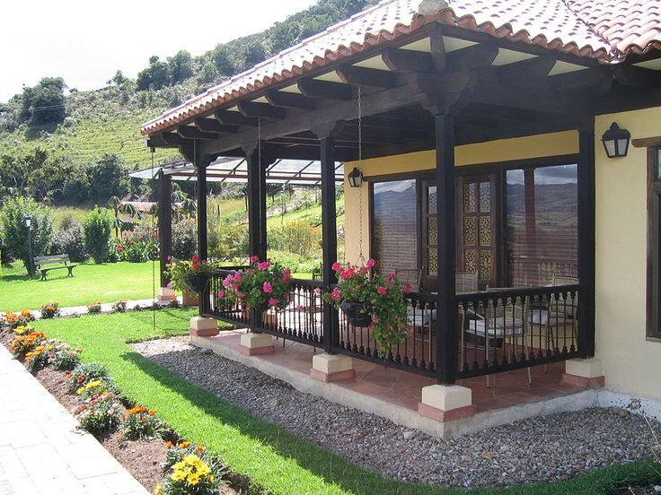 Ideas para decorar tu patio 38 curso de organizacion - Como decorar mi casa de campo ...