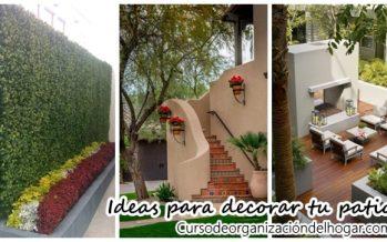 Ideas para decorar tu patio