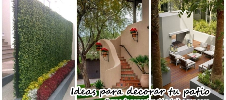 Ideas para decorar tu patio