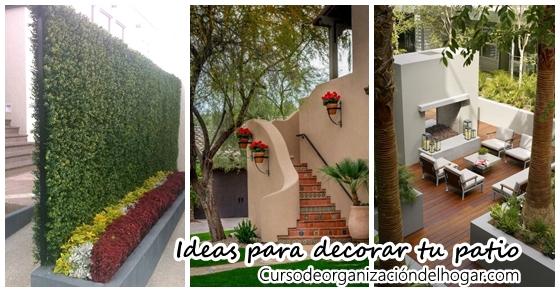 Ideas para decorar tu patio curso de organizacion del for Ideas para decorar tu casa economicas