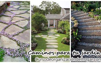 Ideas para hacer caminos en jardín fácilmente