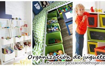 Ideas para organizar y guardar los juguetes de nuestros hijos
