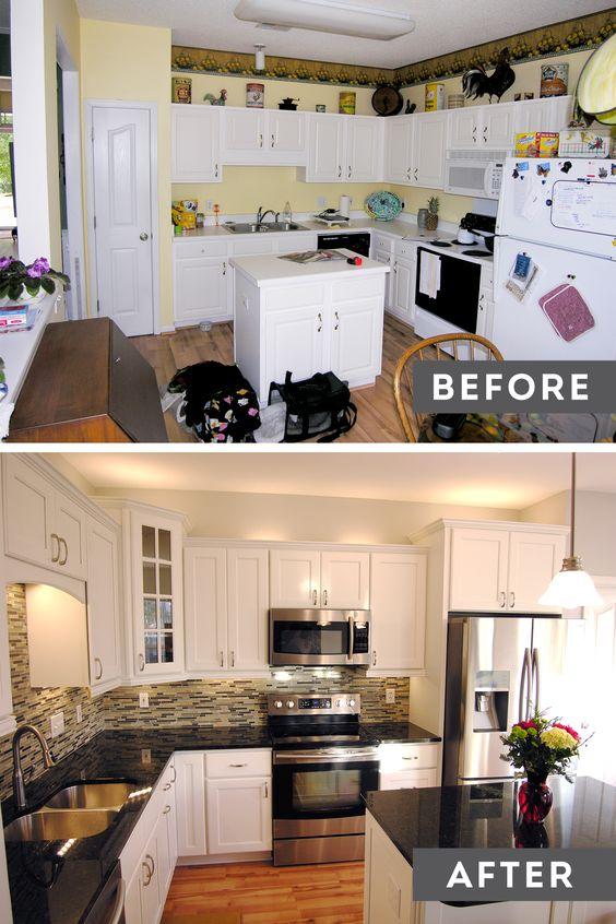 Ideas para remodelaci n de cocinas antes y despues 15 for Remodelacion banos y cocinas