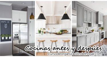 Ideas para remodelación de cocinas antes y despues