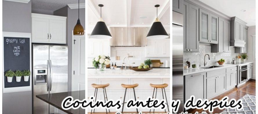 Ideas para remodelaci n de cocinas antes y despues curso for Remodelacion de cocinas