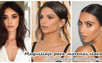Maquillaje para morenas claras