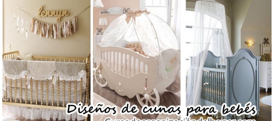 Maravillosos diseños de cunas para bebés