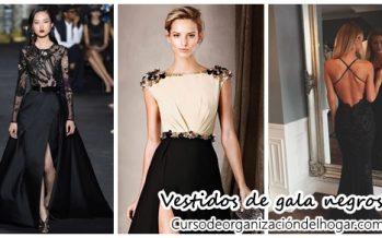 Outfits de gala color negro