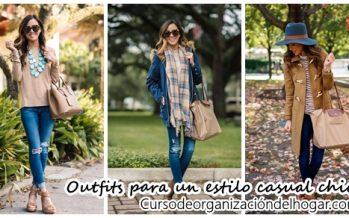 Outfits para un estilo casual chic