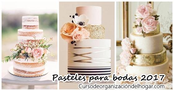 Tipos De Pasteles Para Bodas: Curso De Organizacion Del Hogar