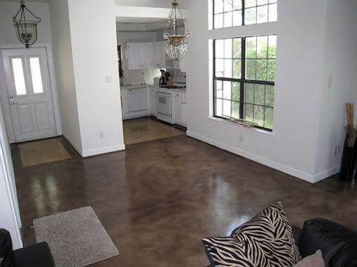 Pisos de cemento pulido para interior 5 curso de organizacion del hogar y decoracion de - Suelo de microcemento pulido ...