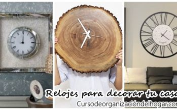Relojes de pared originales para decorar