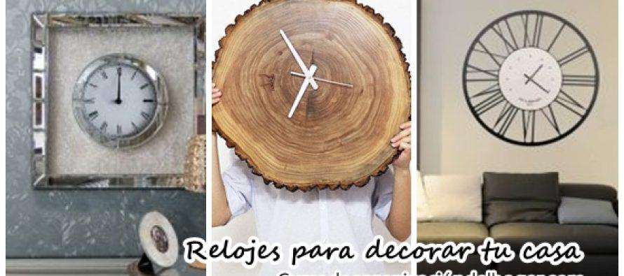 Relojes de pared originales para decorar curso de - Relojes decorativos de pared ...