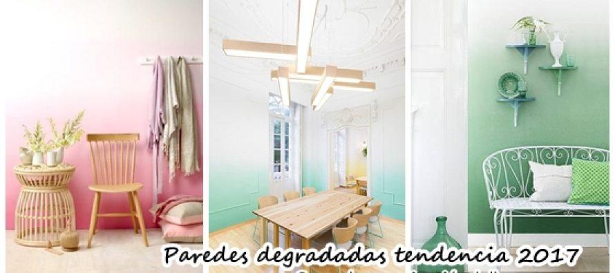 Tendencia en decoraci n de interiores paredes degradadas - Tendencias decoracion paredes ...