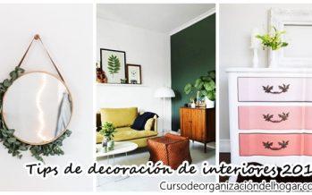 Tips de decoración de interiores 2017