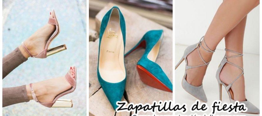 Zapatillas glamurosas para outfits de fiesta