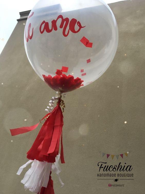 arreglosconglobos sencillos para san valentin