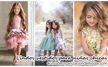 Lindos vestidos para niñas chicas