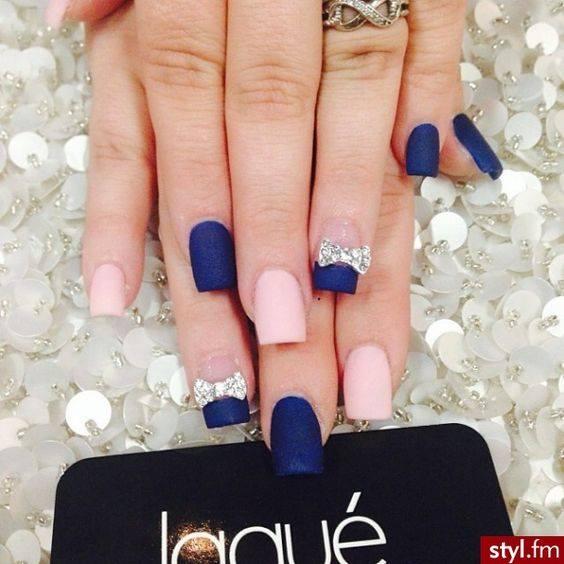 Diseños de uñas color azul - Curso de Organizacion del hogar y ...