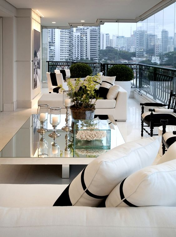 29 ideas para decorar el balc n terraza de tu apartamento for Terrazas para departamentos