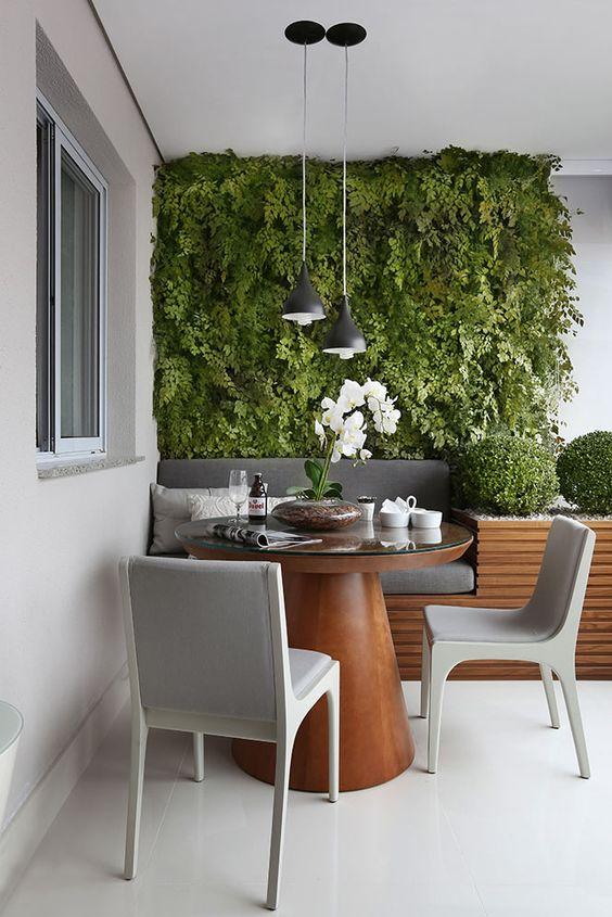 29 ideas para decorar el balc n terraza de tu apartamento for Decoracion de jardines interiores pequenos