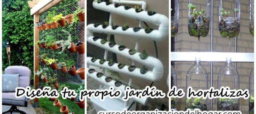 Dise a tu propio jard n de hortalizas curso de - Disena tu hogar ...