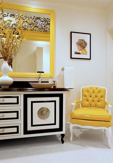 Hermosa decoraci n de salas color gris con amarillo 15 for Decoracion de salas en gris y amarillo