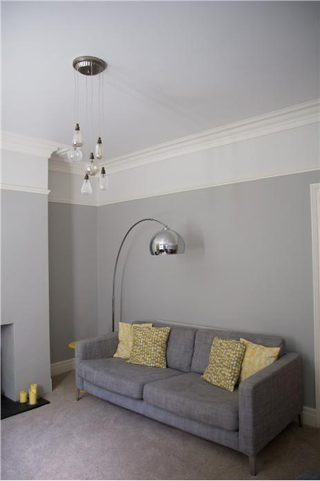 Hermosa decoraci n de salas color gris con amarillo 8 for Decoracion de salas en gris y amarillo