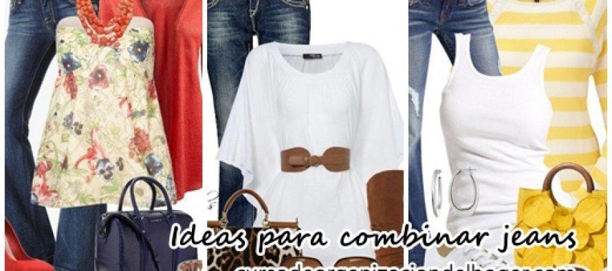 Ideas para combinar jeans en tu día a día