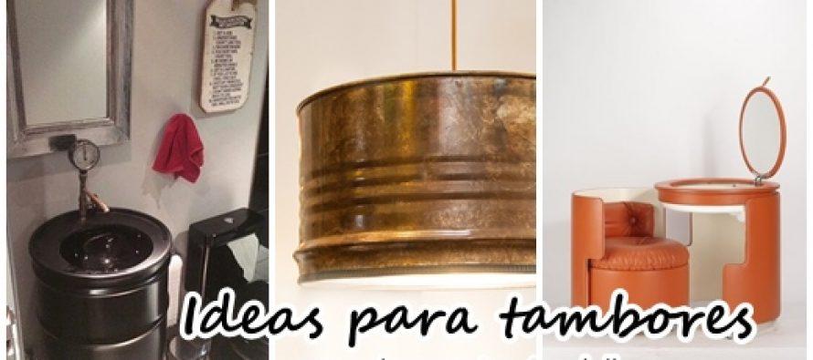 Ideas para tambores curso de organizacion del hogar for Tambores para agua