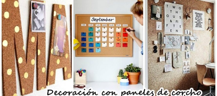 Organiza y decora tu casa con paneles de corcho curso de for Decora tu casa tu mismo