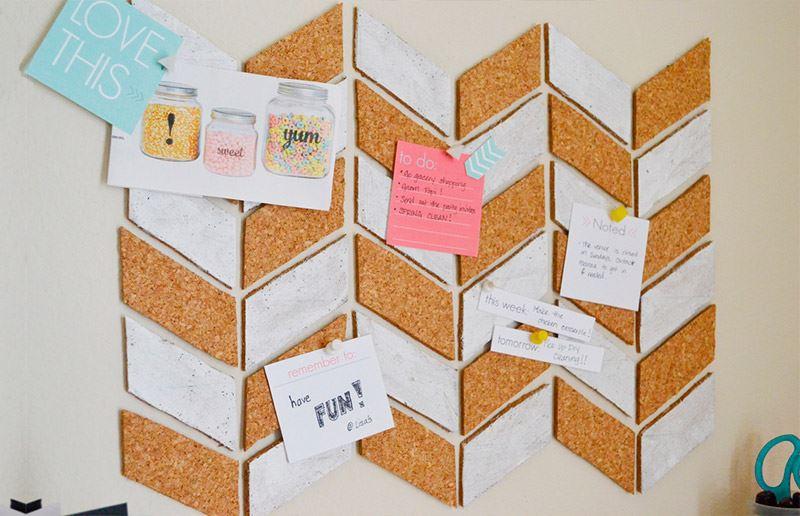 Organiza Y Decora Tu Casa Con Paneles De Corcho 5 Curso